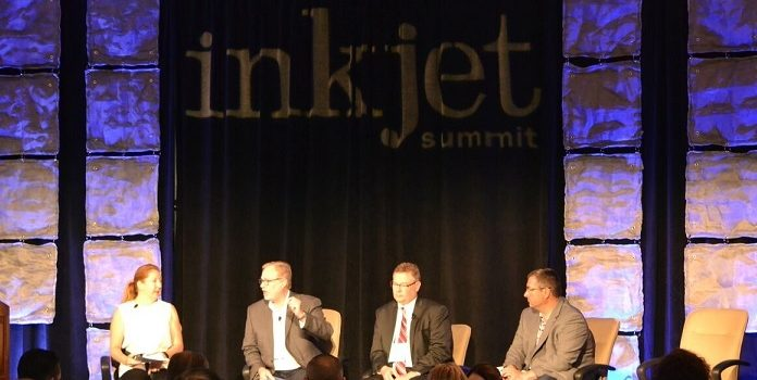 Kirk on panel at Inkjet Summit 17 cropped