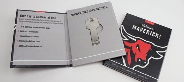Creative direct mail piece cropped