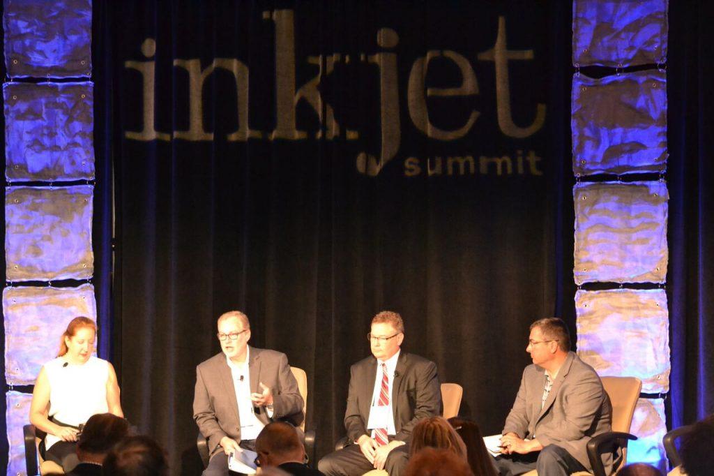 Kirk on panel at Inkjet Summit 17 v2